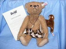 Steiff Teddy Bear Tarzan Johnny And Jocko Limited Edition 31cm 035104 NEW