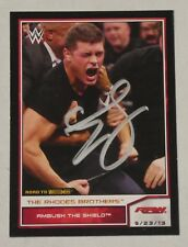 Cody Rhodes Signed WWE 2014 Topps Road to Wrestlemania Bronze Card #45 Autograph