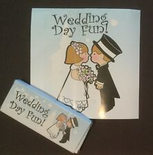 Wedding Kids Favours / Children's Colouring Activity Book And Crayon Packs