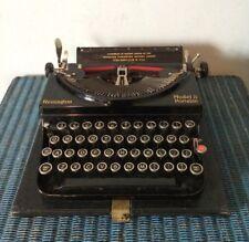 Vintage Remington Model 5 Portable Typewriter 20s 30s Art Deco