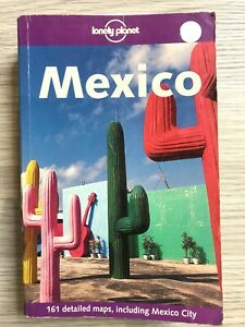 LONELY PLANET MEXICO Travel Guide Including Mexico City Paperback Book
