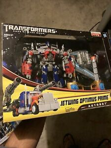 Transformers 2013 Jetwing Optmus Prime Leader Class Reissue DOTM Packaging New