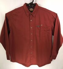 Harley Davidson Men's 2XL XXL Button Up Long Sleeve Embroidered Eagle Shirt NWT