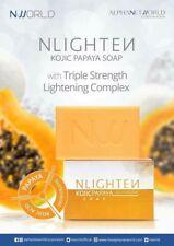 Nlighten Kojic Papaya Glutathione Whitening Anti-Acne Pimples Soap
