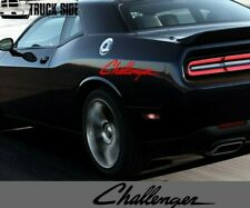Racing Decals Compatible With Challenger Sport Rear Bed Vinyl Stickers Racing x2