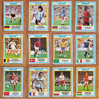 Panini 85 (1985) Recovered Football Sticker World Stars Players - Various Teams