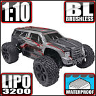 Redcat Racing Blackout XTE Pro 1:10 Brushless Electric Monster RC Truck Silver