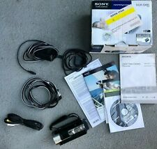 Black Sony DCR-SX85Open Box Camcorder- Built-in USB 70x Zoom