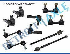 10pc Complete Front & Rear Suspension Kit for Toyota Corolla 1996 - 2001 2002