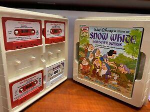 Walt Disney Story Books and Cassette tapes set !