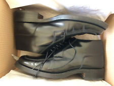 Loake Rahmengenähte Premium Herrenschuh 5 Eye Black Polished Ankle Boot B1306B