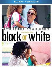 Black or White (Blu-ray Disc, 2015) Kevin Costner Making Of Drama Film HD Digita