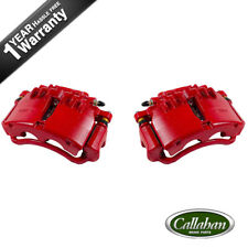Front Red Brake Calipers Pair Set 1999 2000 2001 2002 FORD MUSTANG V6 V8 BASE GT