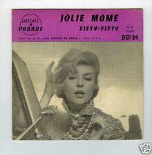 45 RPM SP JOLIE MOME (AUTEUR : LEO FERRE)