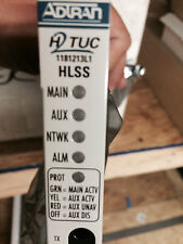 NEW: Adtran 1181213L1 TA3000 Dual-Port HLSS H2TUC