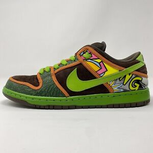 Nike Dunk SB Low De La Soul (2015) 789841-332 Size 10 - PRE-OWNED 9.5/10