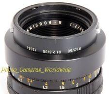 LEITZ Lens Hood 12564 for LEICA ELMARIT-R 2.8/35mm & Leica Summicron-R 2/50mm