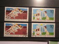 Berlin 1982 Sporthilfe kompletter Satz gestempelt & postfrisch (O11)