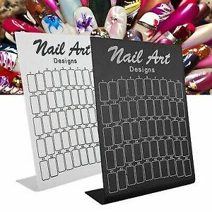 150Pcs Nail Art Display Stand Gel Polish Color Card Showcase Flower Design Board