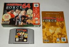 Fighting Force 64 Nintendo N64 Complete CIB Box + Cart + Manual - Fast Ship!