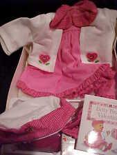 Bitty Baby Valentine Dress Set Pink MINT Retired Mailbox Complete Box NEW