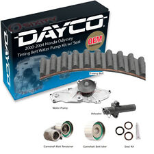 Dayco Timing Belt Water Pump Kit w/ Seal for 2000-2004 Honda Odyssey 3.5L V6 tg