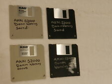 SAMPLE:LOUD DAM OPEN WARNING Sound for Akai S2000 S3000 SO1 REMIX 16 Floppy Disk