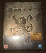 Braveheart Blu-ray Steelbook Uk Region-Free Import Embossed Rare New