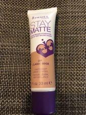 Rimmel Stay matte Liquid Mousse Foundation30ml Various
