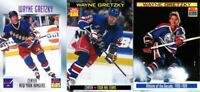 Lot of 3 Wayne Gretzky Sports Illustrated for Kids cards 1997 1999 2000 SI RARE