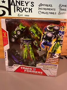 Transformers Classics Constructicons Devastator WalMart Exclusive Combiner