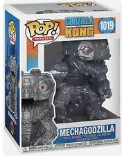 Funko Pop Godzilla VS Kong Mechagodzilla Metallic Vinyl Figure (1019) NEW MIB