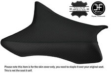 DESIGN 2 CARBON VINYL CUSTOM FITS KAWASAKI ZX10R 1000 11-16 FRONT SEAT COVER