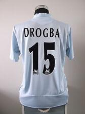 Didier Drogba #15 CHELSEA AWAY FOOTBALL SHIRT JERSEY 2005/06 (L)