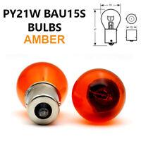PY21W BAU15s 581 AMBER ORANGE Indicator Turn Car Light Bulbs 12V - Off Set Pins