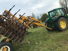 More details for knight 4.6 metre triple press with tines and levelling board £2950 plusvat £3540