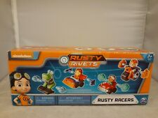 Nickelodeon Rusty Rivets Rusty Racer 4 Pack Bundle Racer Figures NEW