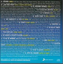 rare BALADA CD sleeve CAMILA yo no se mañana LUIS ENRIQUE Thalia RIO ROMA ov7