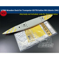 700048 Shipyardworks 1//700 Wooden Deck RN Roma 1943 for TRUMPETER 05777