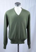 Loro Piana mens V-neck cashmere sweater, 50/M