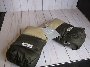 7 A.M. ENFANT WARMMUFFS STROLLER HAND WARMERS HM500 ONE SIZE Cafe/beige