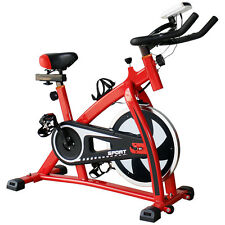 Exercise Bicycle Stationary Indoor Bike Trainer Cycle Fitness Home Gym Workout