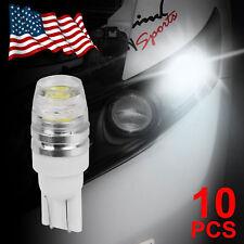 10x T10 1.5W Super Bright Xenon White PIR Lens LED Light Bulb 194 168 2825 W5W