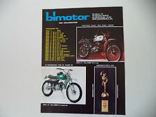 advertising Pubblicità 1975 MOTOBIMM MOTO BIMM 125 REGOLARITA'/50 P4 CROSS