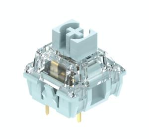 TTC tactile bluish white  key switch smooth segmented spring 10 pcs promotional
