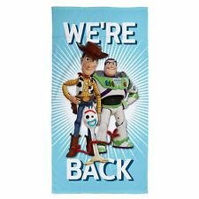 Toy Story 4 Toalla We'Re Parte Trasera Playa Baño Piscina Azul Niño Disney