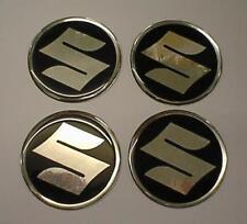 Centro de centro de rueda de aleación 60 mm insignias (S7)