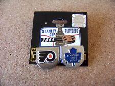 2004 Stanley Cup Toronto Maple Leafs vs Philadelphia Flyers lapel pin NHL SC