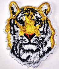 Tiger Big Cat Embroidered Iron Sew On Patch Applique Badge Lion Panther Jungle