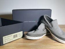 VARVATOS JET SLIP-ON Casual Shoes, Men's Size 10.5 M, Ash/Gray